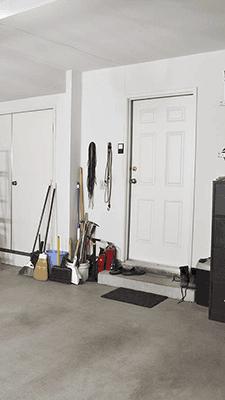 garage entry door