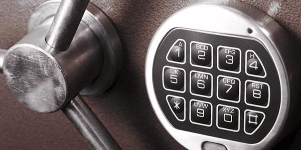 Safe and Keypad